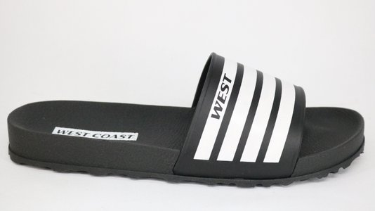 Chinelo West Coast Zuma Slide Tira Preto